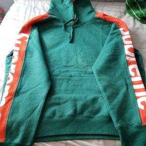 Supreme sideline hoodie